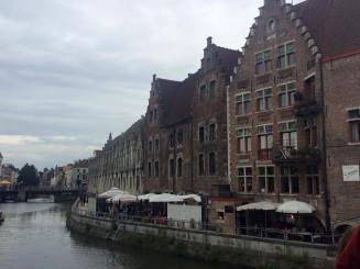 A lovely picture of Ghent from the river