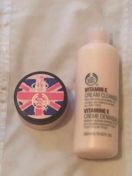 Body Shop Vitamin E products
