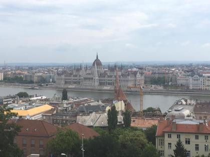 Views from Buda Castle