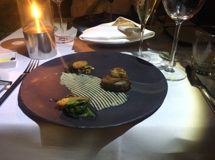 Steak at Sirocco