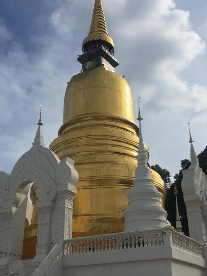 Temple - Wat Suan Dok 2